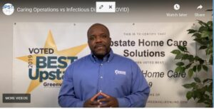 Home Health Care Greenville SC - Caring Operations vs Infectious Disease (COVID)