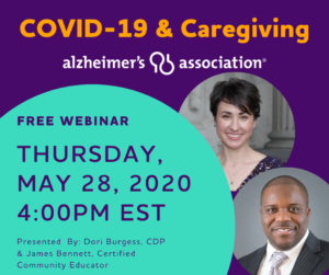 Caregiver Greenville SC - COVID-19 and Caregiving Program on May 28th